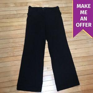 Asos High Waisted Side Detail Dress Pants